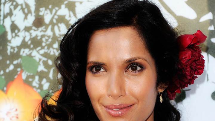 Padma Lakshmi Face Closeup At 2011 FiFi Awards
